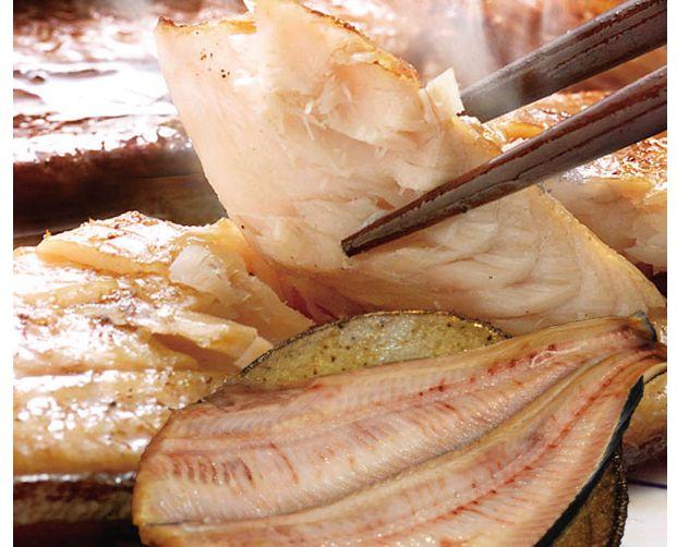 丸源後藤水産の魚介類